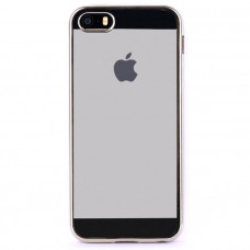 Чехол для iPhone InterStep для iPhone 5/5s серебристый